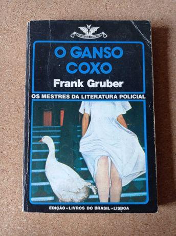 """Livro vintage coleção vampiro """"O Ganso Coxo"""" Frank Gruber"""