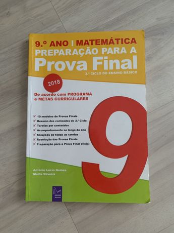 Matemática-Livro preparação para a prova final 9•ano