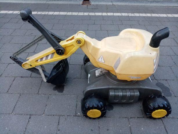 Koparka dla dzieci do siedzenia, Rolly Toys