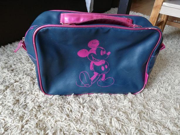 Torba Mickey Mouse granatowo różowa