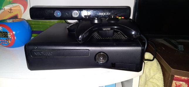 Xbox 360 karta pamięci, kinect, pad + gry