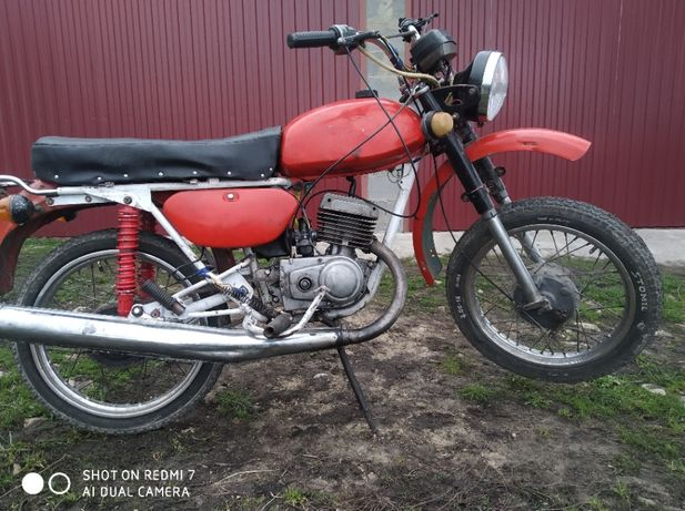 Мотоцикл Минск 125 Мінськ 125 12в