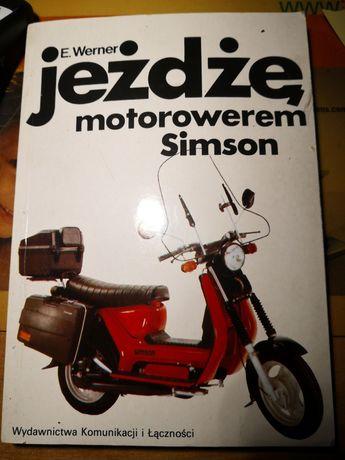 Książka jeżdżę motorowerem Simson