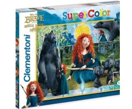 CLEMENTONI Puzzle 60 Brave Wd-Merida The Brave