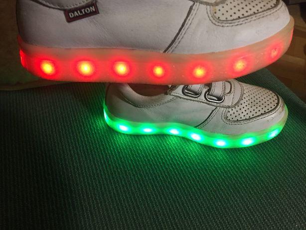 Продам светящиеся кроссовки, LED DALTON кроссовки