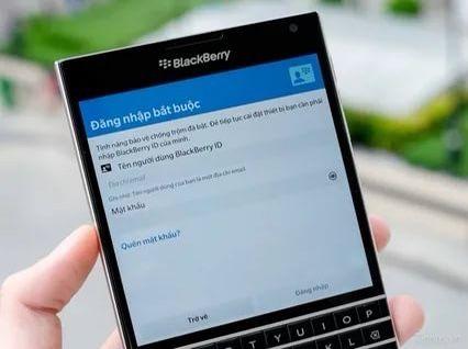 BlackBerry ID удаление