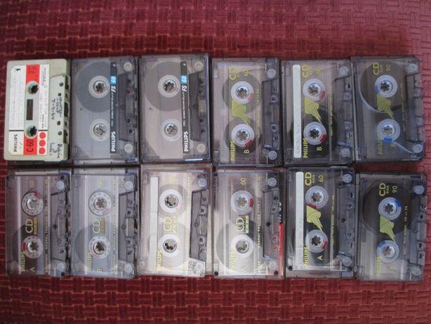 Ideias Geniais - Cassetes áudio para aproveitamento exterior.
