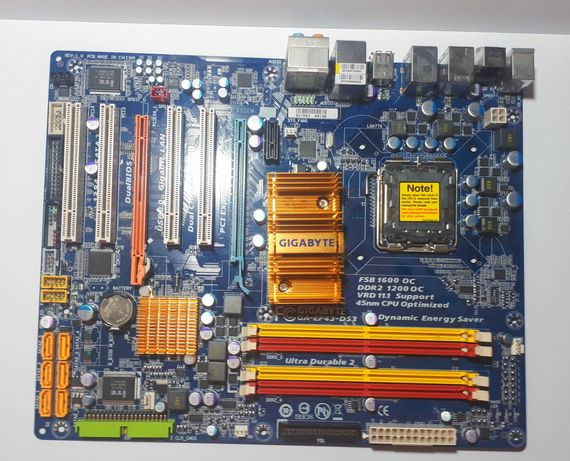 Płyta główna Gigabyte EP43-DS3 z pudełkiem