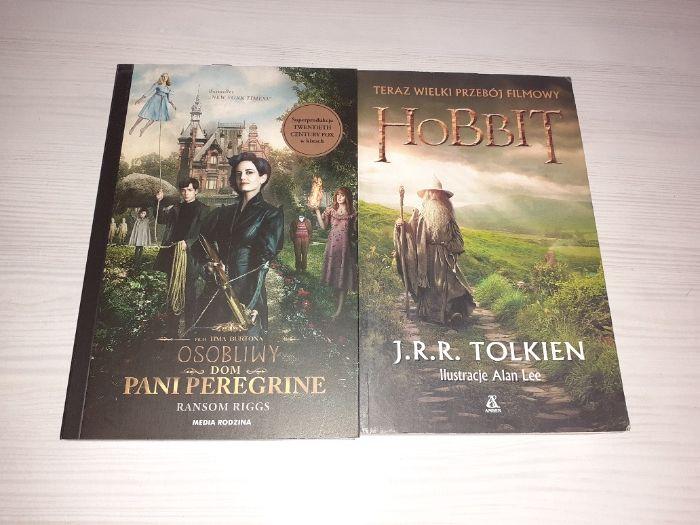 J.R.R. Tolkien Hobbit oraz R. Riggs Osobliwy Dom Pani Peregrine Kielce - image 1