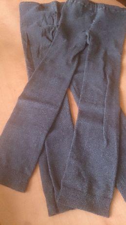 Getry nowe rozmiar 116-122 bawełniane