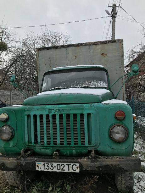 ГАЗ-53. Газ, бензин.