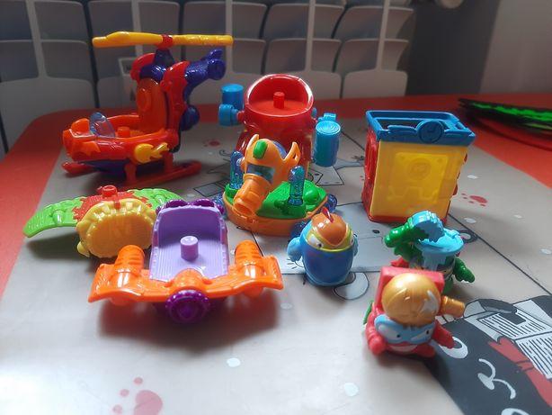 SUPER ZINGS zestaw figurki i pojazdy