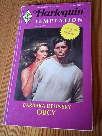 Książka Barbara Delinsky - Obcy + 2 inne książki