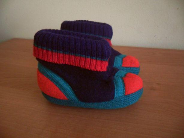 ТОПИКИ, теплые ботинки (ботиночки, пинетки) на кроху 6-12мес