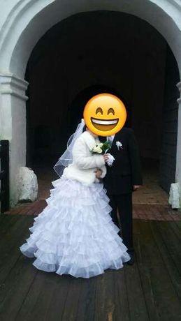Свадебное платье! Недорого!