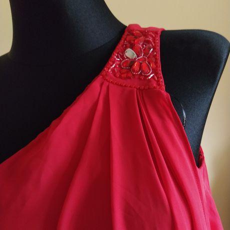 Sukienka czerwona Apart