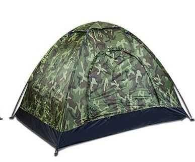 Duży namiot wojskowy moro typu iglo czteroosobowy