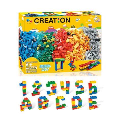 Конструктор аналог Лего Classic, на 1100 деталей (NO:60008)