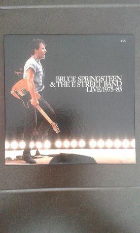 Coleção de 5LPs de Bruce Springsteen&The e Street Band Live 1975-85