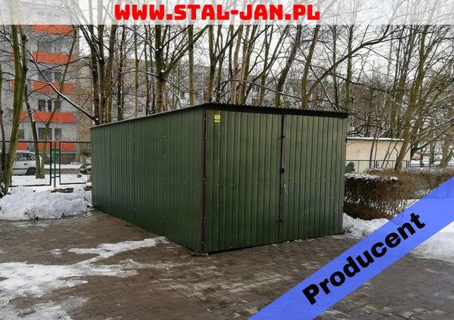 Garaż blaszany/blaszak akryl zielony połysk 3x5, małopolska