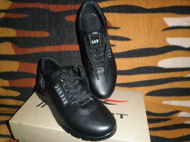 Кроссовки туфли кожаные