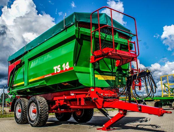 Przyczepa rolnicza skorupowa tandem METAL-TECH TS 14 ton | 10, 12, 16
