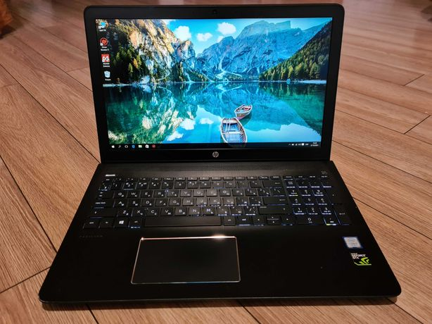 HP Gaming 15/Intel i7 7700HQ/GTX 1050 4GB/RAM 12GB/SSD 256+1024GB