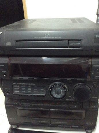 Aparelhagem Sony MHC 551
