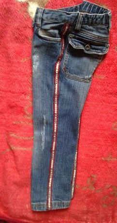 Dolce&Gabbana junior оригинал джинсы девочке,мальчику 104рост