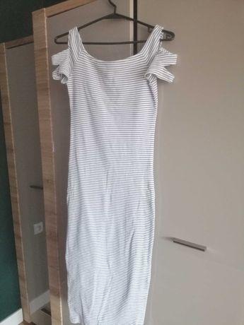 Sukienka ciążowa dzianinowa