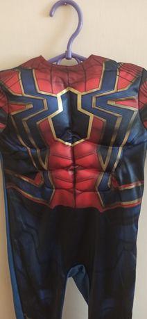 Костюм костюм Spiderman Homecoming Iron Spider 3 р  104