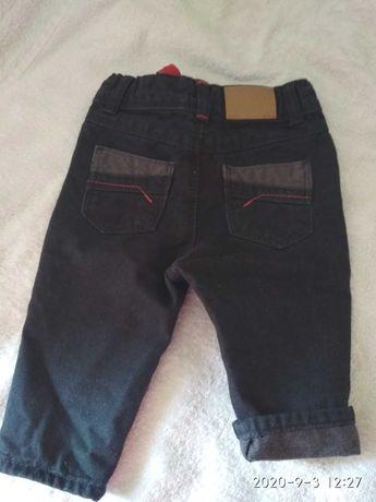 Штани джинсові, теплі