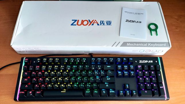 Механическая клавиатура Zuoya X61. Геймерская игровая с подсветкой!