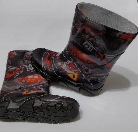 Резиновые сапоги для мальчика Demar (Демар) размер 32/33