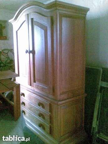 Witryna drewniana