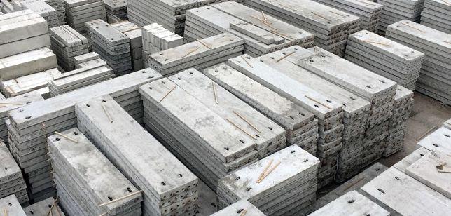 Панелі та плити перекриття. ПБ,ПК, блоки фундаментні, Плиты перекрития