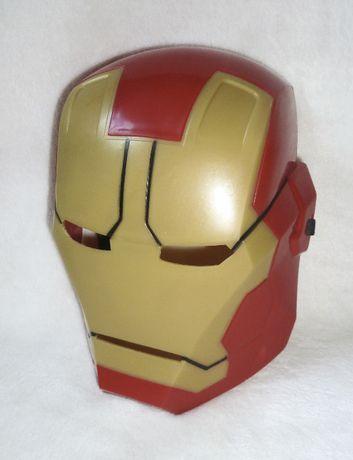 Пластиковая маска Железный человек Iron Man Marvel & Subs на 3-6 лет