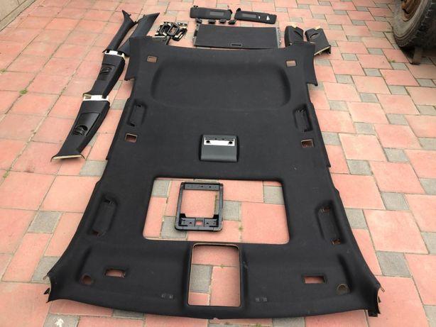 Чёрный потолок под люк BMW X5 E53 (комплект)