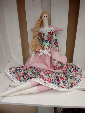 Lalka Tilda - Różowy Anioł