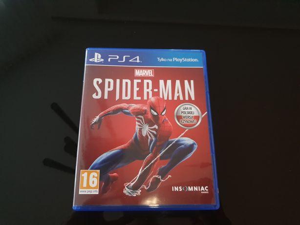 PS 4 Spider-Man gra