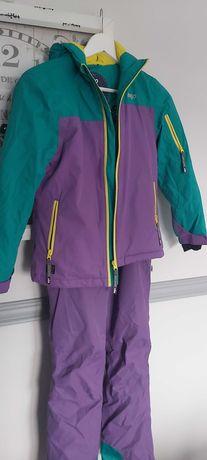 Dwuczęściowy kombinezon narciarski dla dziewczynki firmy BEJO