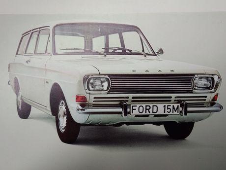 Ford lata '70 prospekt