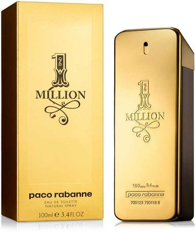 ДУХИ ПАРФЮМ туалетная вода мужской Paco Rabanne - 1 Million 100 ml ОАЭ