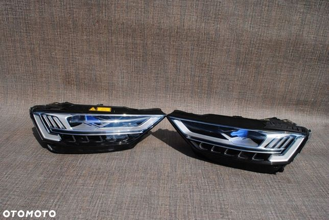 AUDI A8 4N0 LAMPA PRAWA LEWA LASER HEAD LAMP