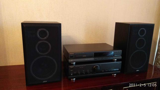 Technics SL-PS 360а, SU-V500, Jamo Studio 110