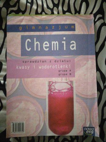 Chemia sprawdziany Nowa Era kwasy i wodortlenki