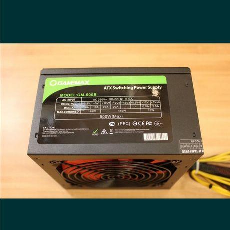 Блок питания 500Вт Gamemax gm-500b