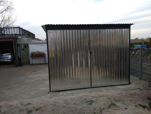 Garaż 3x5 ocynkowany