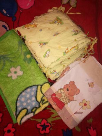 Защита в кроватку,постелька,одеяльце!