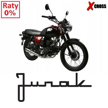 Klasyczny Motorower Junak RAW 50 Raty 0% Dostawa Caffe Racer